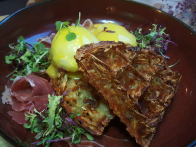 Montana Singapore New Menu For 2017 At PoMo, Getting Better And Better - Truffle Egg Rosti ($19)