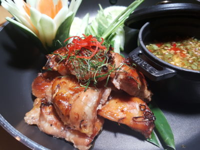Marriott Cafe Launches Exotic Flavours of Thailand Buffet In Marriott Singapore Tang Plaza For A Limited Period - Grilled Marinated Chicken & Lemongrass with Spicy Sauce