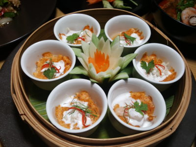 Marriott Cafe Launches Exotic Flavours of Thailand Buffet In Marriott Singapore Tang Plaza For A Limited Period - Baked Minced Seafood with Spicy Coconut Custard