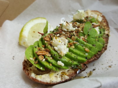 The Glasshouse Specialty Coffee & Toast Bar At Chijmes, Gorgeous Space - Avocado and Dukkah Toast ($7)