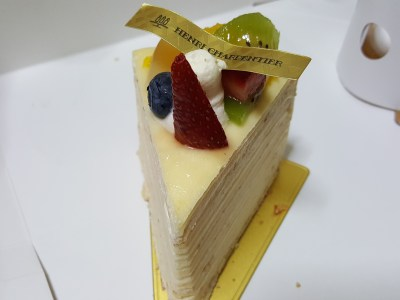 Top 6 Fave From Henri Charpentier @ Orchard Central - Mille Crepe