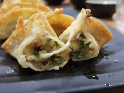 Caffe Zeppin At Midview City With An Array Of Offering With Taiwan Dishes As Signature - Cheese Gyoza Filling