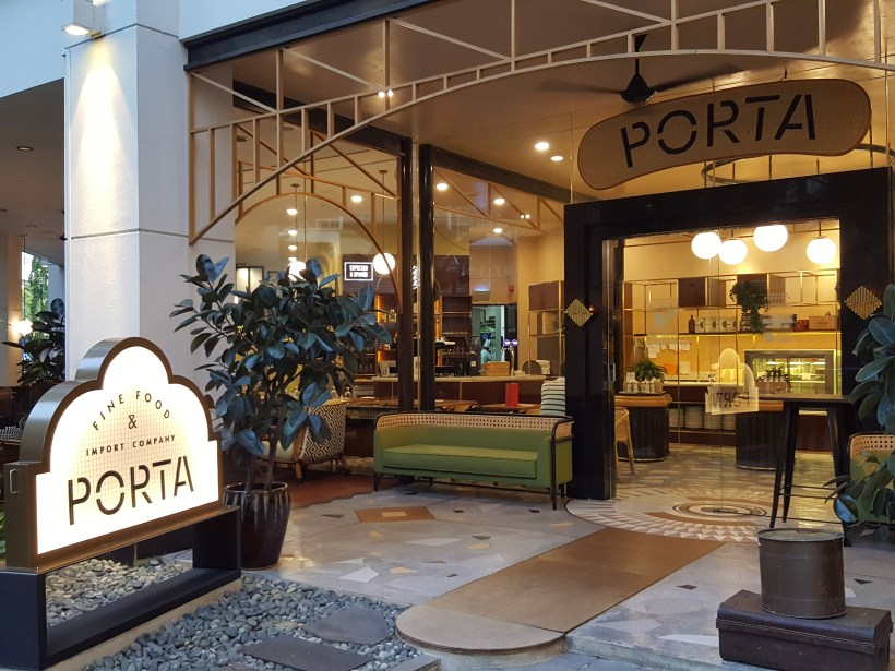 Porta Fine Food & Import Company At Park Hotel Clarke Quay, New Brunch Menu - Facade