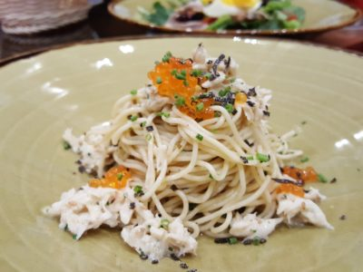 Porta Fine Food & Import Company At Park Hotel Clarke Quay, New Brunch Menu - Chilled Angel Hair Pasta (S$14++)