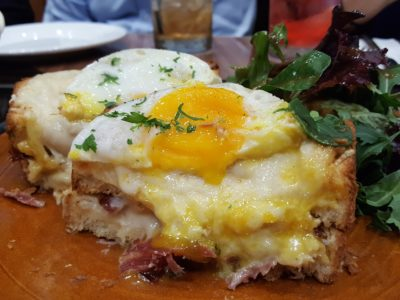 Porta Fine Food & Import Company At Park Hotel Clarke Quay, New Brunch Menu - Croque-Madame side view