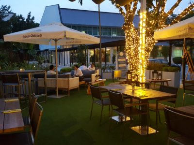 Blue Lotus Mediterranean Kitchen + Bar At Alexandra Road - Al Fresco dinning