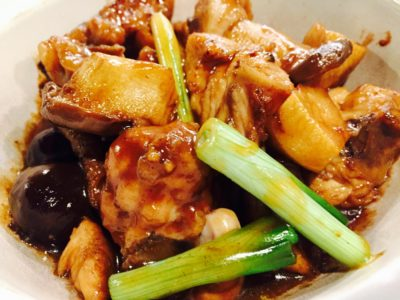 CHAR Restaurant Introduces New Hong Kong Head Chef And Revitalised Menu - Black Garlic Stewed Chicken in Casserole ($15.80) - 独子黑蒜滑鸡煲
