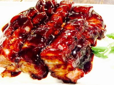 CHAR Restaurant Introduces New Hong Kong Head Chef And Revitalised Menu -Signature Char Siew ($6 per 100g / min 300g) - 招牌叉烧
