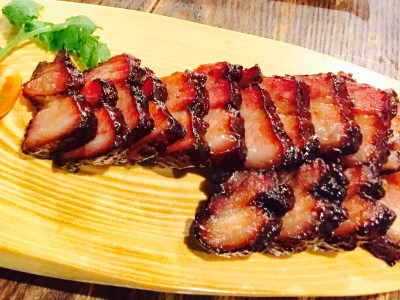 CHAR Restaurant Introduces New Hong Kong Head Chef And Revitalised Menu -Premium Slow-Roasted Char Siew – ($20 per portion / Limited to 10 portions a day / dinner only) - 特制日本黑猪叉烧