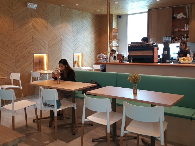 Kohi-Ya At Hillview Community Centre With A Japanese Vibes - Interior with Counter View