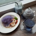 Soi Thai Soi Nice New Menu With Gorgeous Looking Blue Colour Dishes And New Outlet At Seletar Mall - Butterfly Pea Menu