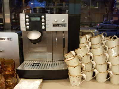 One Farrer Hotel & Spa Christmas Feasting 2017 At Escape Restaurant & Lounge - Coffee Machine