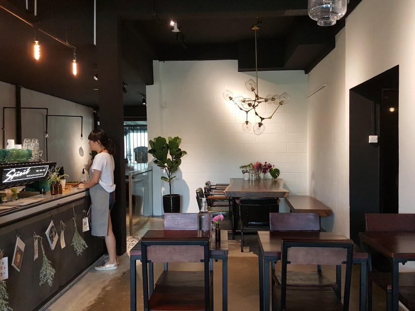 Thus Coffee, Cafe With Good Coffee & Food At Jalan Kuras - Interior, another view