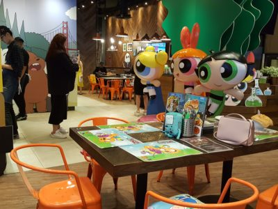 The Soup Spoon Union x Cartoon Network Cafe At Punggol Waterway Point Featuring Powerpuff Girls, Ben 10, Adventure Time and We Bare Bears - Interior