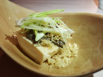 Big Sake Bar At The Concourse Skyline, A Hidden Gem, Serving 6 Sets Of Affordable Wagyu-Theme Omasake Daily - Pitan Tofu