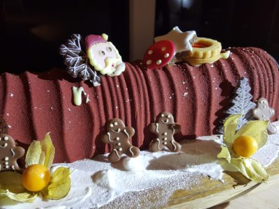 Park Hotel Alexandra Spanish-inspired Yuletide Celebration - Log Cake