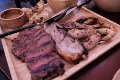 Meat Market Offering Quality Wood-Fire Grilled Meat At Heartland, Hougang 1 - Two to share, Surf & Turf ($35.90)