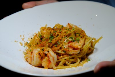Rookery @ Capital Tower With Exclusive Dishes - Gambas Aglio Olio Spaghetti ($22++)