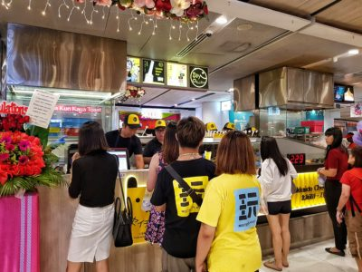 Thailand's Stretchy Hokkaido-Style Cheese Toast 'Say Chiizu' Has Arrived In Singapore! - Vivocity Store Front