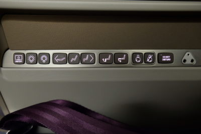 Flying Singapore Airlines Business Class SQ336 From Singapore To Paris - Various Lights