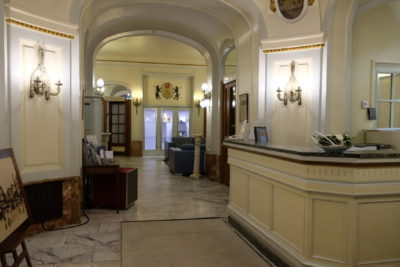 Grand Hotel Bellevue In Lille, A Victorian Interior Design Theme Hotel - From the Entrance