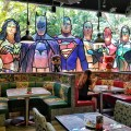 DC Comics Super Heroes Cafe Singapore Opens 2nd Outlet at Ngee Ann City - Interior