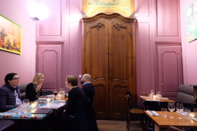 La Petite Cour Lille, A Restaurant Which Seems Squeezed Out Between Two Buildings - A View