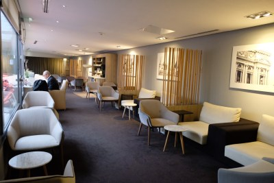 Paris Charles de Gaulle Airport Star Alliance Business Class Lounge - Another section of the lounge