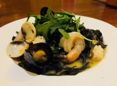 Pastaria Abate, A Passion of Italy Offering Homemade Pasta At Craig Road - Squid Ink Pasta