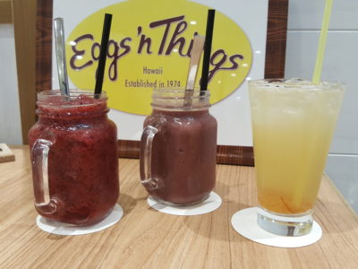 Eggs 'n Things With Eggs And Pancake For All Day Breakfast At Plaza Singapura - Drinks