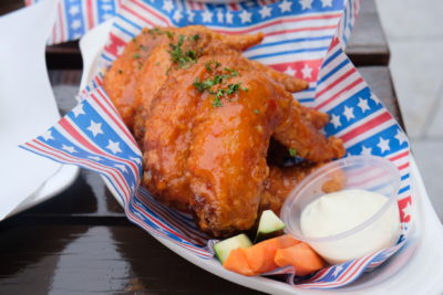 Mischief @ Esplanade Offering American Street Food With Al Fresco Dinning Style - Bufalo Wings ($16)