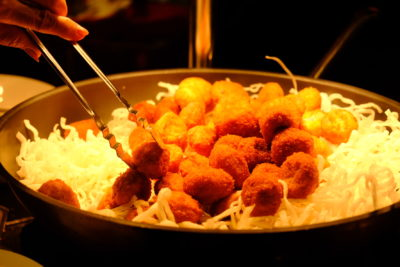 Crystal Cafe At Orchard Grand Court, Enjoy Taiwan Porridge Buffet With 30 Dishes Under $20 - Fried fritters