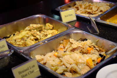 Crystal Cafe At Orchard Grand Court, Enjoy Taiwan Porridge Buffet With 30 Dishes Under $20 - Vegetables and Fried Eggs