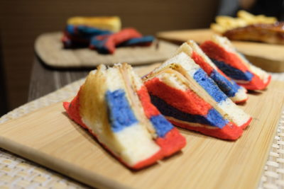 Food Street @ One Farrer Hotel & Spa 2018 With American-Style Theme - Ham & Cheese Sandwich