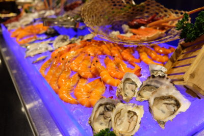 Straits Cafe @ Hotel Rendezvous Launching Favourites Of The Straits Buffet Spread - Cold Seafood