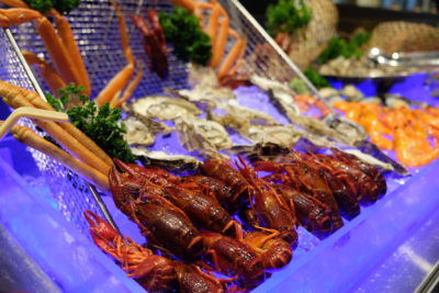 Straits Cafe @ Hotel Rendezvous Launching Favourites Of The Straits Buffet Spread - More Seafood