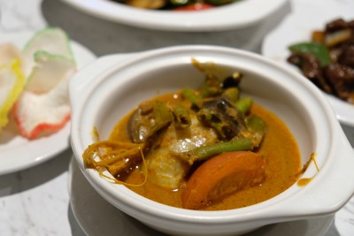 Straits Cafe @ Hotel Rendezvous Launching Favourites Of The Straits Buffet Spread - Fish Cheek Curry