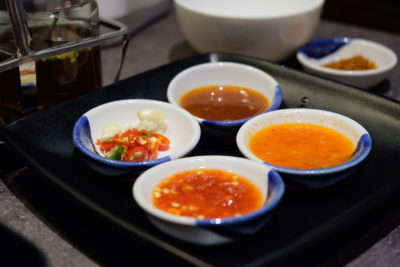 Kra Pow At Far East Plaza Has Delicious Authentic Thai Food And Yet Affordable - Chilli Sauce
