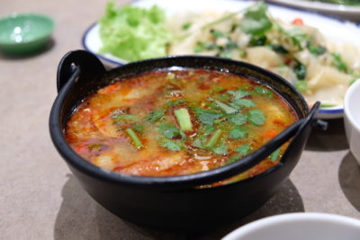 Kra Pow At Far East Plaza Has Delicious Authentic Thai Food And Yet Affordable - Tom Yum Soup, Red