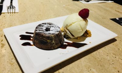District 10 @ UE Square Filled With Pezzera's Family Favourites - Warm LAVA chocolate cake
