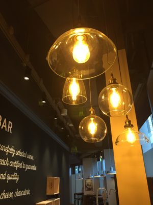 So France @ Duo Galleria, 100% French Experience Le Bistro-Epicerie - Interior Lights