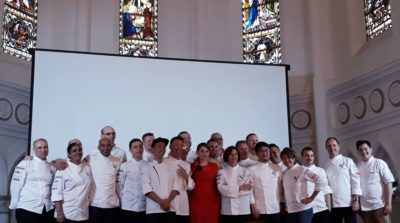 World Gourmet Summit (WGS) Chefs' A La Minute - Chef Group Photo