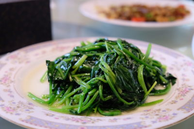 Grape Restaurant At Xinle Road Serving Home-styled Shanghainese Dishes - Spinach
