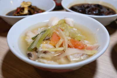 Teochew Porridge At Spice Brasserie Of Parkroyal On Kitchener Road - Preserved Vegetable Fish