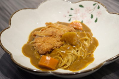 En Sushi At Prinsep Street Offering Reasonable Price Range Japanese Food - Curry Katsu Spaghetti ($11.90)