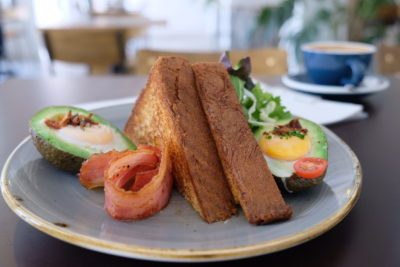 Twenty Eight Cafe At Wilkie Road, A Cafe With White Space - Baked Avocado ($19.90)