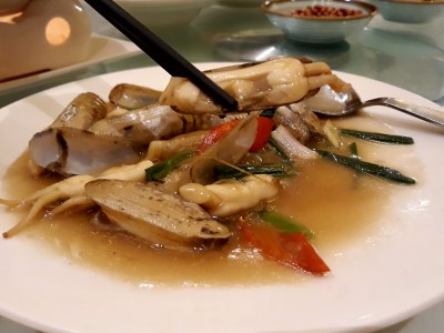 Putien Duo Tou Clams Festival 2018 Is Back Again – Picking up the Stir-fried Duo Tou Clam with Ginger and Spring Onion