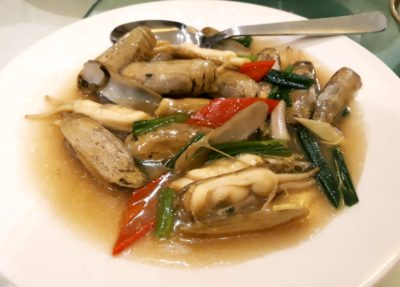Putien Duo Tou Clams Festival 2018 Is Back Again – Stir-fried Duo Tou Clam with Ginger and Spring Onion