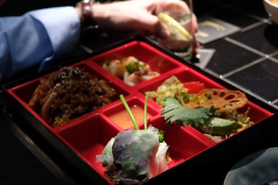 Cobra Lily, Based On The Eyes Of A Fictional Lady, At Xintiandi - Korean Style Stir Fried Beef Bulgogi Bento Lunch (78 RMB)