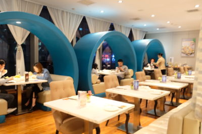 Jumbo Seafood Restaurant Shanghai At iAPM Mall, Taste Similar To Singapore - Another area of dinning area